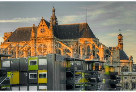 Chantier des Halles - Église-Saint-Eustache