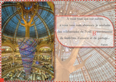 Galeries Lafayette - Noël 2014