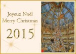 Galeries Lafayette - Noël 2015 - Galeries Lafayette stores Christmas 2015
