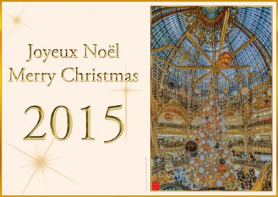 Galeries Lafayette - Noël 2015 - Galeries Lafayette stores Christmas 2015